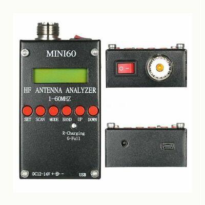 Mini60 Sark100 HF ANT SWR Antenna Analyzer Meter Bluetooth Android APP Win7