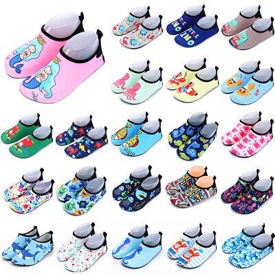 Kids Toddler Baby Swim Water Shoe Beach Aqua Socks Skinny Wading Dive Shoes Slip