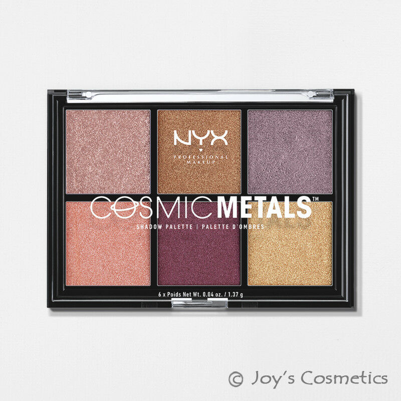 NYX Cosmic Metals Eye Shadow Palette - CMSP01 - BRAND NEW SE