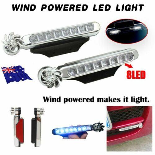 Chrome High Power  L Shape DRL LED Daytime Running Lights x2 For Land Rover