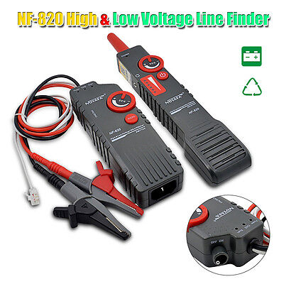 Nf-820 Highlow Voltage Underground Wall Wires Fault Locator Cable Finder H6yf
