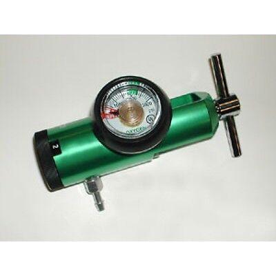 NEW Drive Medical Oxygen Tank Regulator Model 18301GM. 0-15 LPM. Barb Outlet