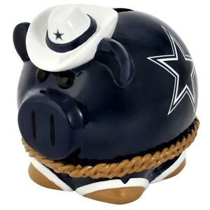 DALLAS COWBOYS X-LARGE PIGGY BANK