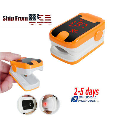 Led Finger Tip Pulse Oximeter-spo2 Pr Oxymeter Blood Oxygen Monitor Oximetry Top