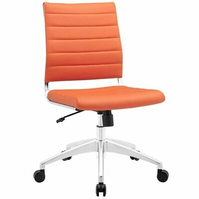 Modway Jive Armless Office Chair In Orange