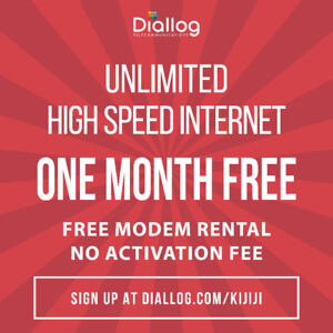 UNLIMITED home internet! Fast reliable CHEAP internet! $29.95/mo
