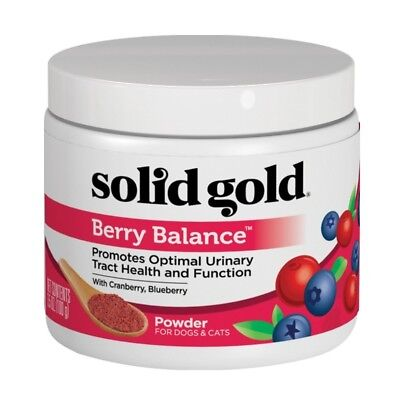 Solid Gold Supplements (Solid Gold Berry Balance Nutritional Supplement 3.5oz For Healthy urinary)