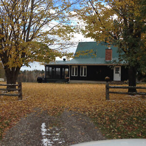 240 acres waterfront private log home hobby farm