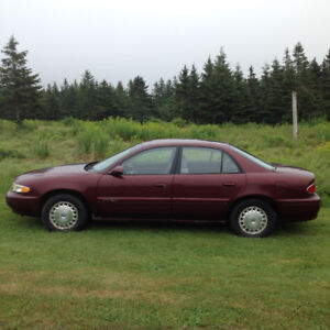 2002 Buick Century Special Edition, under 100,000kms.