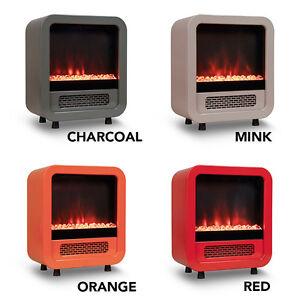 ON SALE: 50% OFF Mini Electric Fireplace / Portable Heater