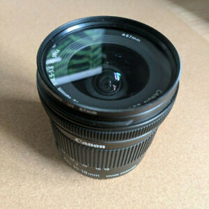 Canon EF-S 10-18mm F/4.5-5.6 IS STM Lens Mint condition.