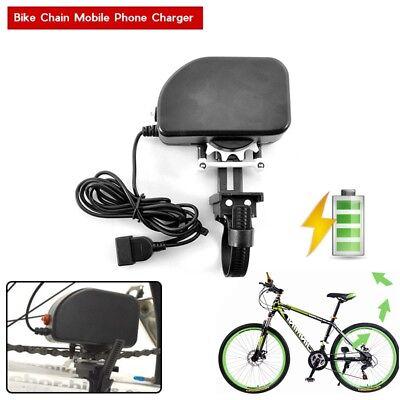 2000mAh Bicycle Bike Chain Mobile Phone Charger Power Generator to USB - Dynamo 2000 Mah Mobile
