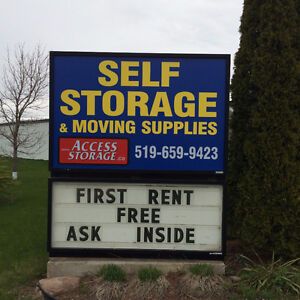 * * * AMAZING DEALS ON DRIVE UP STORAGE UNITS * * *
