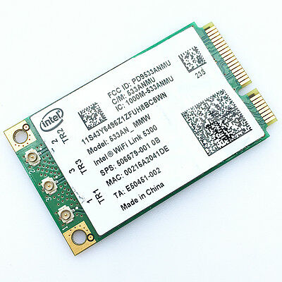 Intel WiFi Link 5300 Wireless Card 533ANMMW 802.11n For Dell D630 D620 D830 D820