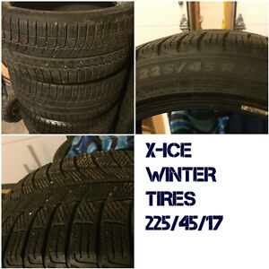 Used 17 Inch Winter Tires - 225/45/17, 215/55/17, 225/55/17