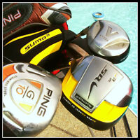 GOLF CLUBS DRIVERS LEFT - CALLAWAY, PING, TaylorMade, NIKE