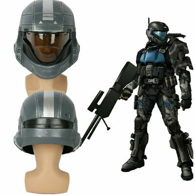 Halo3: ODST Helmet 1:1 Scale Full Head Mask Cosplay Costume Prop Movie Replica