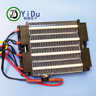 1000W AC 110V PTC heating element heater Electric ceramic Thermostatic