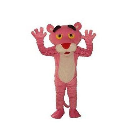 Halloween Cute Leopard Mascot Costume Cartoon Fancy Dress Outfit Adult Size new - Leopard Halloween Kit