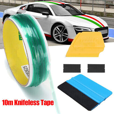 10m Knifeless Tape Squeegee For Car Vinyl Wrapping Film Cutting Line Tools Wer