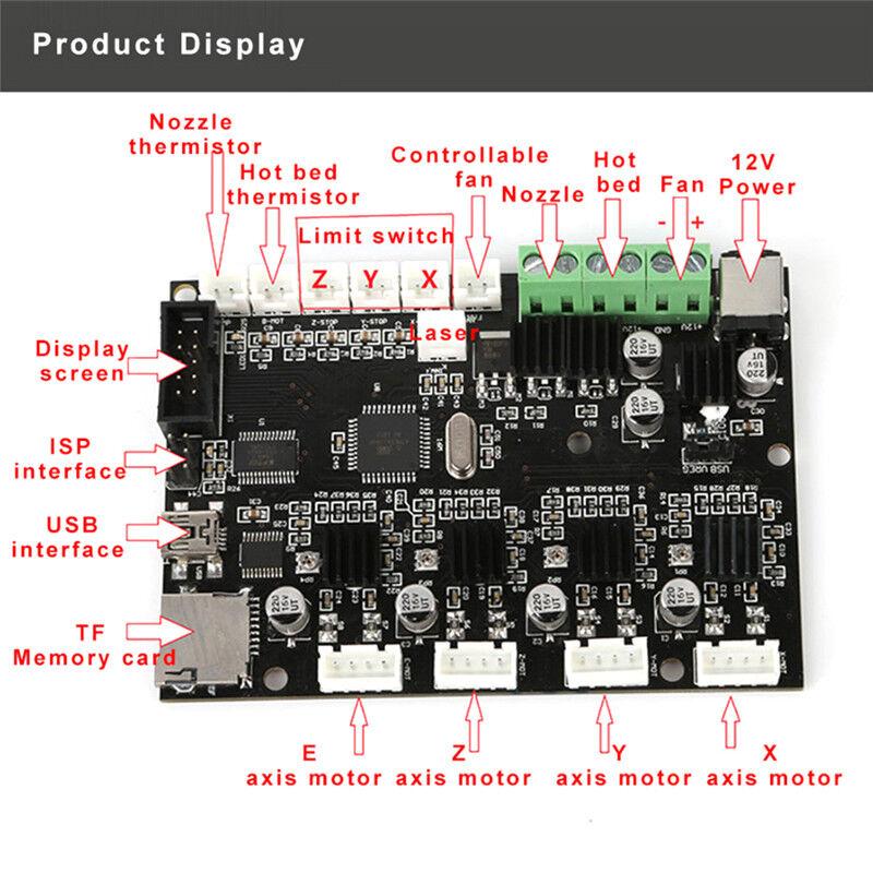 creality 3d cr 10 10s 3d printer control mainboard upgrade. Black Bedroom Furniture Sets. Home Design Ideas