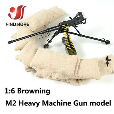 INE GUN Model Military Army Assembly Toy for Action Figure (Toy Machine Guns)