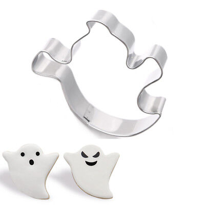 Halloween Ghost Stainless Steel Biscuit Cookie Cutter Cake Mould Baking Tools - Halloween Cookie Cakes