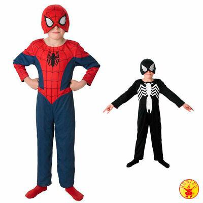 Rubies 2in1 Ultimate Spiderman Kinder Junge Kostüm Fasching - Spider Man Kostüme