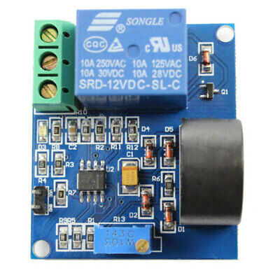 Working Dc12v 0-10a Ac Current Sensor Module Detection Module Switch Outp Wlq