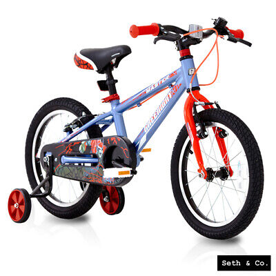 """GREENWAY® Kids Bike for Boys Children's Bicycle - 16"""" inch - Blue & Red UK"""