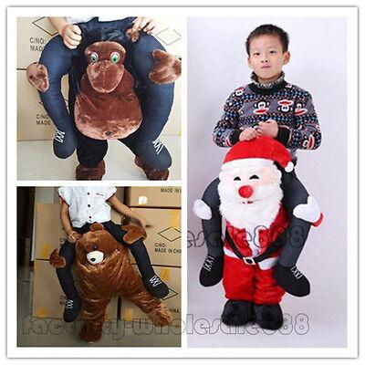 Halloween Cosplay Teddybär Gorilla Weihnachtsmann Maskottchen Kostüm Kind - Mann Teddy Bär Kostüm