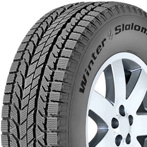 2 bf goodrich winter slalom tires for sale 205/65/15 ,