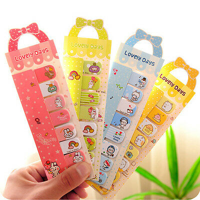Cute Animal Sticker Bookmark Marker Memo Flags Index Tab Sticky Notes Qy