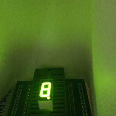 10pcs Led Display 7 Segment 0.36inch 1-bit Green Light Cc 1digit Character Block