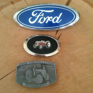 Collector Belt Buckle + Buckle + FORD EMBLEM**SEE EACH PRICE