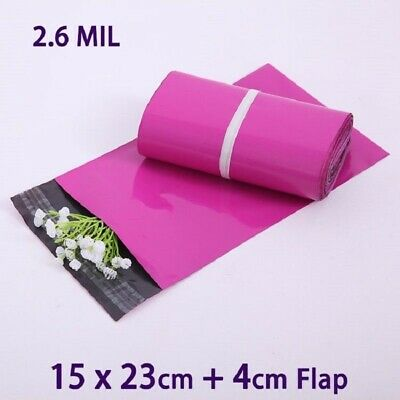 20pcs Purple Small Packaging Shipping Sobres Bags Mailing Envelopes Plastic