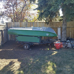 Fishing boat and trailer for sale