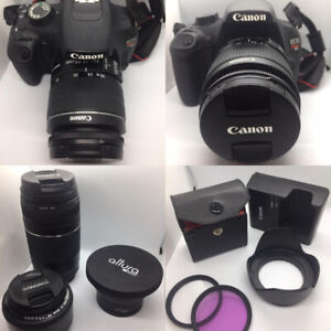 Canon Rebel T5 and lenses package