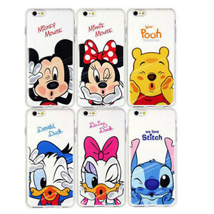 Soft-Silicon-Cartoon-Minnie-Mickey-Cover-Case-iPhone-7-6-5-S-Plus-amp-Samsung-Gal