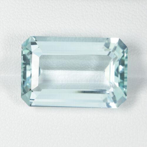 18.19 ct TOP LUSTROUS LIGHT GREEN BLUE NATURAL BERYL - AQUAMARINE See Vdo # 1036