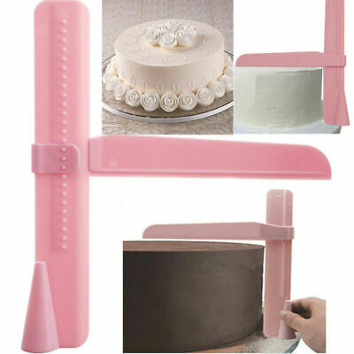 Sugarcraft Fondant Adjustable Icing Tools Decorating Mold Cake Cutter Smoother