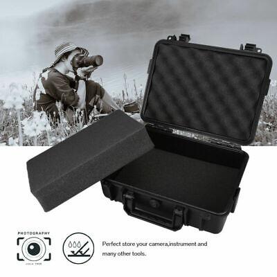 Large Hard Flight Case Foam Camera Photography Carry Storage Tool BOX w/ Foam