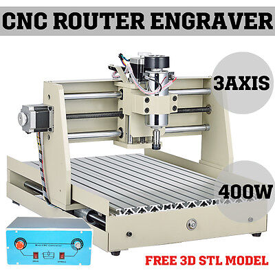 3040t Cnc Router Engraver Miniature Engraving Milling Machine Kit Desktop 3040 I