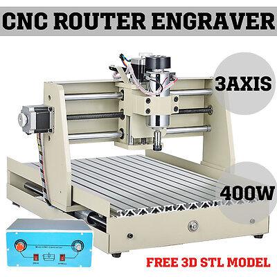 3040T CNC ROUTER ENGRAVER MINIATURE ENGRAVING milling MACHINE kit desktop 3040 i