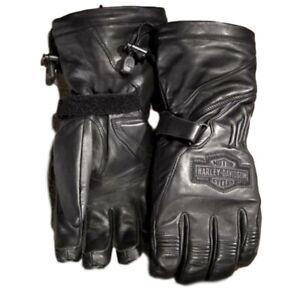 Gants chauds Harley Davidson en cuir