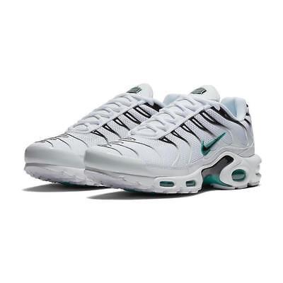 366c14bab555d4 Nike Air Max Plus Zn Tuned 1 Herren Weiß Schwarz Cactus 852630-106 Sz 12
