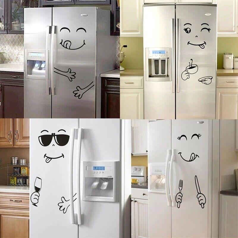 Aufkleber Wandtatoo  Küche Kinderzimmer Möbel Kühlschrank
