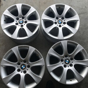 """18"""" OEM BMW E60 Rims - Staggered"""