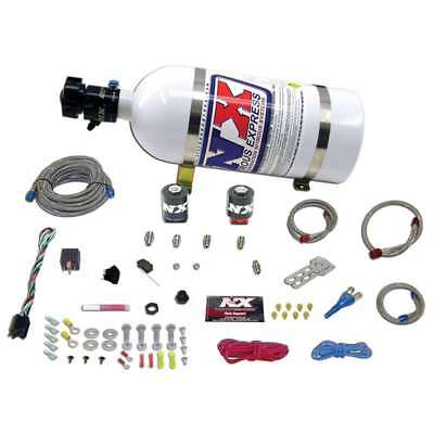 Nitrous Express 20922 10 ALL FORD EFI SINGLE NOZZLE SYSTEM 10LB BOTTLE