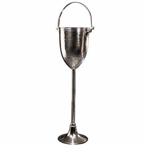 Stainless Steel Champagne/Wine Ice Bucket with Stand